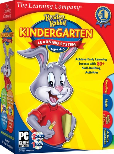 Tlc Reader Rabbit Kindergarten Learning System (2009) [Old Version] front-628484