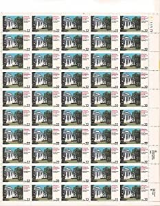 Arkansas Statehood Sheet of 50 x 22 Cent US Postage Stamps NEW Scot 2167