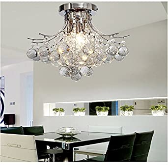 Alfred 3 luce lampadario di cristallo moderno finitura - Lampadario camera da letto moderno ...