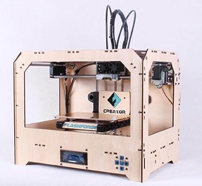 FlashForge Creator 3D Printer (Wood Case)