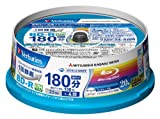 Verbatim Mitsubishi 25GB 4x Speed BD-R Blu-ray LTH TYPE Recordable Disk 20 Spindle Pack - Ink-jet printable