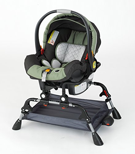 GoTo-Folding-Infant-Car-Seat-Cradle-Stand-w-Soothing-Vibration-by-Phoenix-Baby-Portable-Vibrating-Platform-Keeps-Your-Baby-Carseat-Off-the-Ground