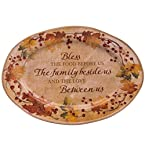 Family Blessing Stoneware Platter