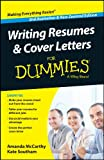 img - for Writing Resumes and Cover Letters For Dummies book / textbook / text book