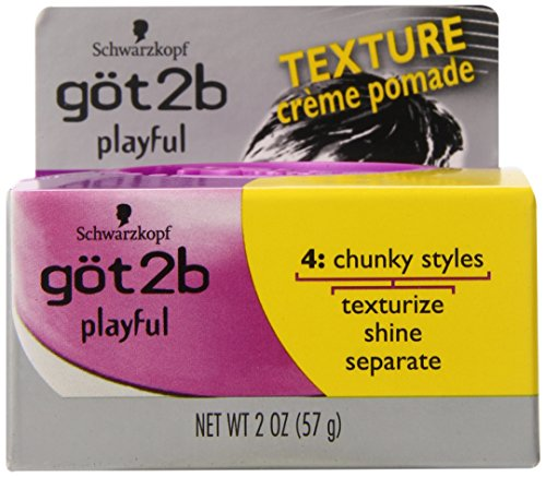 Got2b Playful Texturizing Crème Pomade, 2-Ounce