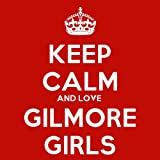 Keep Calm And Love Gilmore Girls Coaster - 9cm Square
