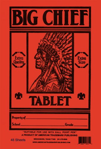 the big chief tablet