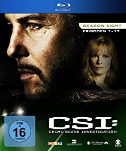 CSI: Crime Scene Investigation - Season 8 [Blu-ray]