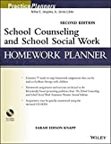 img - for School Counseling and School Social Work Homework Planner book / textbook / text book