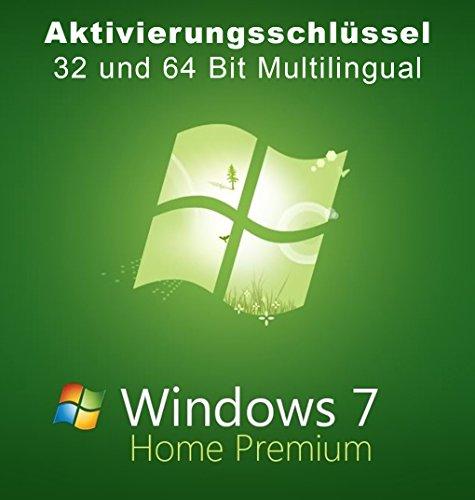 Microsoft Windows 7 Home Premium 32/64 Bit Deutsch und alle Sprachen Multilanguage Lizenzschlüssel Lizenzkey - kein Datenträger - Lizenzkey per Email