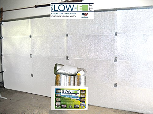 ESP Low-E® SSR Two Car Garage Door(16'x7') Insulation Kit (White Interior Finish):Includes ESP Low-E® Reflective Foam Core Insulation (120 sq ft), Razor Knife, Squeegee, Double Adhesive Tape. 25 Years Products and Service From the Creators of Low-E (Garage Door 2 Car compare prices)