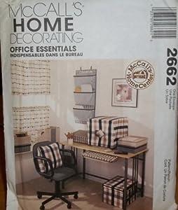 amazon com mccall s home decorating 2662 office essentials