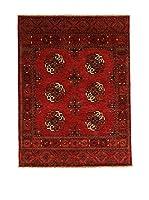 Design Community By Loomier Alfombra Ozbeki Ghazni A Rojo 176 x 130 cm