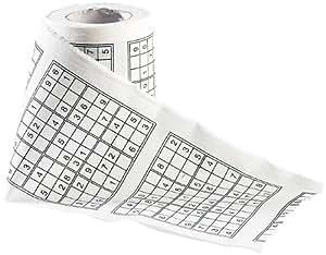 Sudoku Toilettenpapier PE-7504 -Der ultimative Spass bei jeder Sitzung...