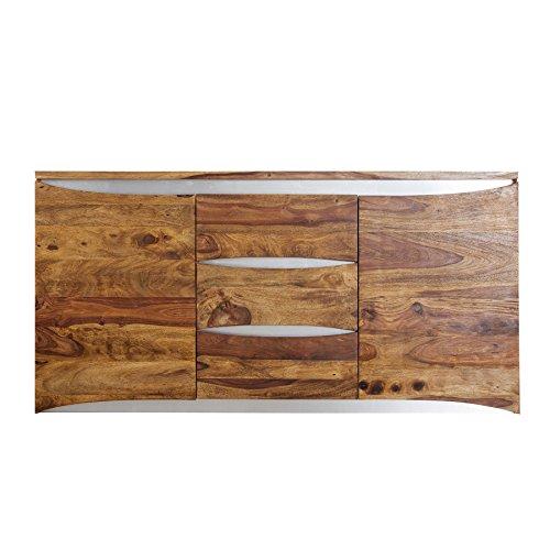 Modernes-Sideboard-ELEMENTS-160cm-Sheesham-stone-finish