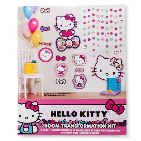 Hello-Kitty-Party-Decoration-22-Count-Multi-colored