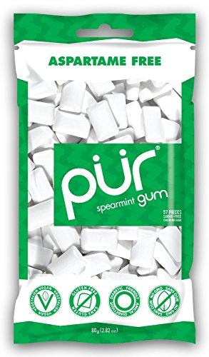 Pur Gum, Spearmint, 2.82-Ounce (Pack of 12) (Pur Spearmint compare prices)