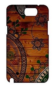 Samsung Galaxy Note 2 Hard Case Back Cover - Printed Designer Cover for Samsung Galaxy Note 2 - SGN2CHKSB147