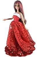 ADM 1009 - Vestito per la principessa di Natale (bambola non inclusa)