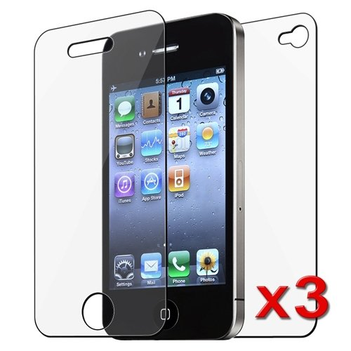 eForCity 1 Front & 1 Back Reusable Screen Protector