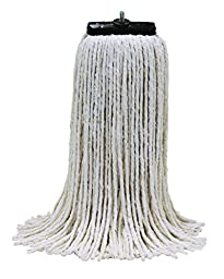 O'Cedar Commercial 97823-3 MaxiCotton Screw-On Mop, 32 oz (Pack of 3)