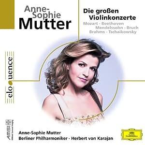 Anne-Sophie Mutter - Die Großen Violinkonzerte