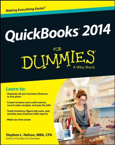 Stephen L. Nelson - QuickBooks 2014 For Dummies