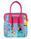 RajRang Handbag (Multi-color) (BAG01647)