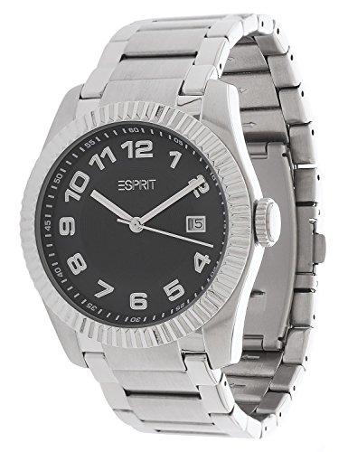 ESPRIT 3178 - Reloj para hombres, correa de acero inoxidable