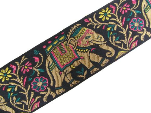 3 Yard Wide Elephant Weaving Jacquard Trim Lace Sewing