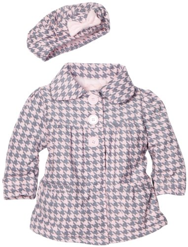 Kids Headquarters Baby-girls Infant Corduroy Outerwear Jacket, Grey, 12 Months