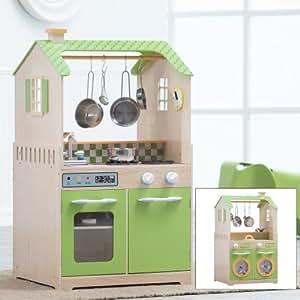 Teamson kids play kitchen and laundry playset for Kitchen set toys amazon