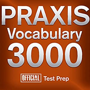 Official Praxis Vocabulary 3000 Audiobook
