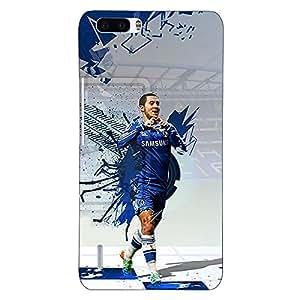 Jugaaduu Chelsea Eden Hazard Back Cover Case For Honor 6 Plus