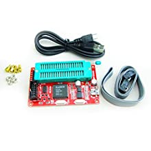 51 Microcontroller Programmer USB burner support AT89C52 24C02 93C46 300 variety of chips