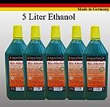 Alto rendimiento de bioetanol Bio Alcohol para Chimeneas etanol br> 1 botella de un litro con seguridad para niños y la boca de llenado de cada botella. br> El bioetanol se quema por completo sin dejar ningún residuo br> No hay sucie...