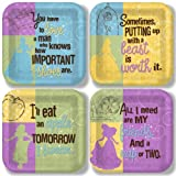 Disneys Princess 9 Inch Plate Variety Pack