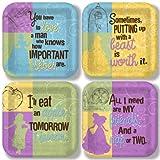 Disneys Princess 9 Inch Plate Variety Pack