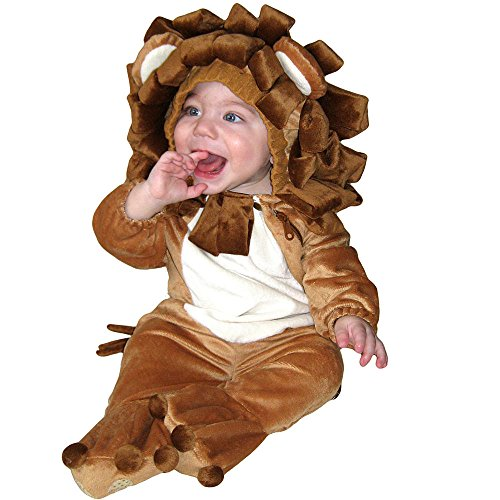 Totally Ghoul Plush Lion Jumper Toddler Halloween Costume 0-6 months