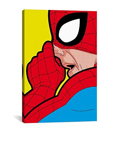 Spider-Boogie Gallery-Wrapped Canvas Print