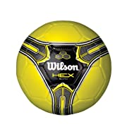 Wilson Hex Soccer Ball (Yellow, Size 3)