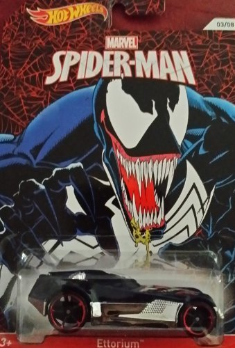 2014 Hot Wheels Marvel Spiderman Ettorium 03/08 - 1