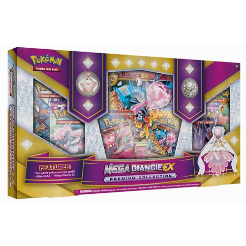 Pokemon - 331810 - Jeu De Cartes - Mega Diancie Ex Premium Collection - C12