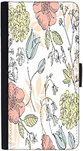 Snoogg Seamless Vintage Flower Patterndesigner Protective Flip Case Cover For...