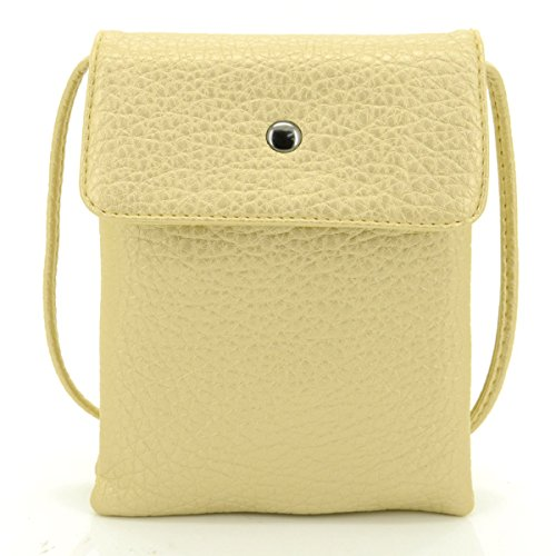 u-times-womens-small-embossed-pu-leather-smart-phone-holder-pouch-single-shoulder-travel-pursegloden