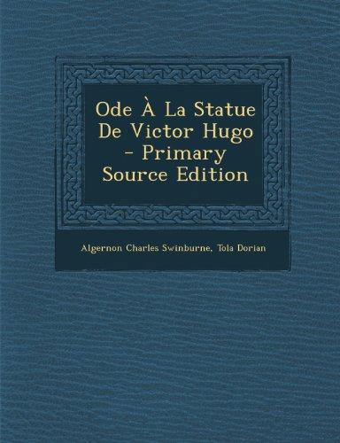Ode À La Statue De Victor Hugo
