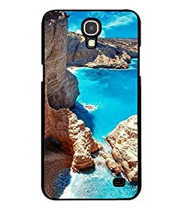 printtech Blue Water Beach Lagoon Nature Back Case Cover for Samsung Galaxy Mega 2 , Samsung Galaxy Mega 2 G750F , Samsung Galaxy Mega 2 G7508 Samsung Galaxy Mega 2 Duos G7508Q for China with dual-SIM card slots