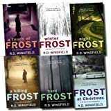 R. D. Wingfield A Detective Inspector (DI) Jack Frost Investigation Collection R D Wingfield 6 Books Set (Frost At Christmas, A Touch Of Frost, Night Frost, Hard Frost, Winter Frost, A Killing Frost)