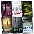 A Detective Inspector (DI) Jack Frost Investigation Collection R D Wingfield 6 Books Set (Frost At Christmas, A Touch Of Frost, Night Frost, Hard Frost, Winter Frost, A Killing Frost)