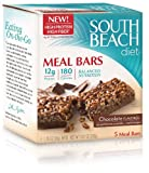 South Beach Diet Meal Bar, Chocolate Flavored, 5-Count (Pack of 8)